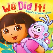 FREE US SHIP. on ANY 3+ CDs! ~Used,Very Good CD Dora the Explorer: We Did It! Do