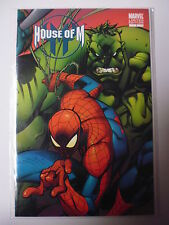 HOUSE OF M ISSUE # 1.  HULK/SPIDERMAN VARIANT COVER. LTD EDITION. 2005. N.MINT