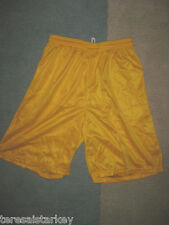 Mens Mesh shorts White red blue purple green Yellow small med large xl 2x 3x 4x