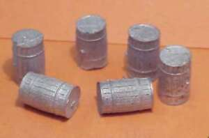 S SCALE Sn3 1/64 WISEMAN MODEL SERVICES DETAIL PARTS S323  SMALL WOOD KEGS