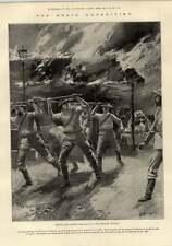 1897 Benin FERITI OSPEDALE FUOCO ACQUA BOLLENTE
