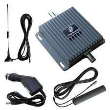 850/2100MHz  Dual Band Cell Phone Signal Boosters GSM 3G Repeater For Car Use