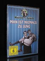 DVD MAN IST NIEMALS ZU JUNG (1955) - JERRY LEWIS + DEAN MARTIN - Slapstick * NEU