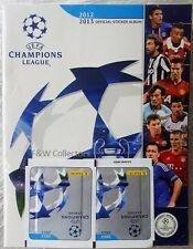 PANINI UEFA CHAMPIONS LEAGUE 2012 2013 OFFICIAL STICKER STARTER ALBUM KIT NEW