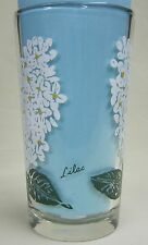 Lilac Peanut Butter Glass Glasses Drinking Kitchen Mauzy 69-1