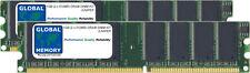 1gb (2x 512mb) Dram DIMM RAM Kit Para Juniper Ssg300 Serie (ssg-300-mem-1gb)