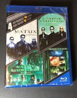4 Film Favorites [ The Matrix Collection ] (Blu-ray Disc) NEW