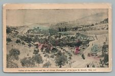 Kedron Valley & Mount of Olives ANTIQUE JERUSALEM John Stoody Photographer 1907