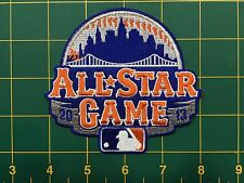 "All Star patch NY Mets 2103 4"" wide heatseal backing"