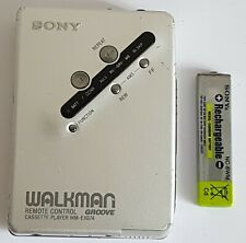 VINTAGE SONY WALKMAN WM-EX674 GROOVE PERSONAL CASSETTE TAPE PLAYER