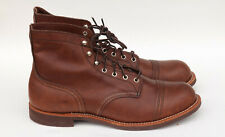 Red Wing Heritage Iron Ranger 6-Inch Leather Boot Amber Harness13 M US