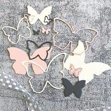 """Stanzschablone """"Schmetterlinge No.03"""" für die Big Shot Frühling Falter Butterfly"""