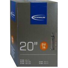 Schwalbe DV 7A Chambre à air vélo 20″ 20X1 1/8-1 3/8″ 28/37-438/451 dv32mm