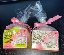 (Set Of 2) Soap and Glory Fizz-A-Ball Bath Bomb & (Set Of 2) Beauty Masks