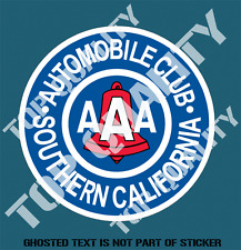 VINTAGE SO CAL AUTOMOBILE CLUB Decal Sticker Mancave Garage Retro Car Stickers