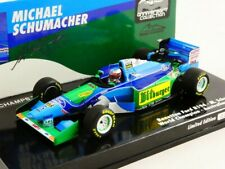1 43 Minichamps Benetton Ford B194 GP Belgium World Champion 1994