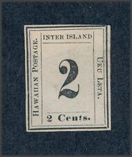 drbobstamps US Hawaii Scott #20 Mint No Gum Stamp (See Description) w/HPS Cert