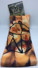New w/ Tags Kurb Socks - Fortune Cookie Pattern - Size Large - MSRP $12.99