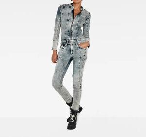 Neu G-Star Raw Lynn Jet Suit WMN Gr S Overall Aged Anzug Suits Damen