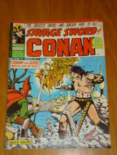 CONAN SAVAGE SWORD #16 BRITISH WEEKLY 1975 JUNE 21ST