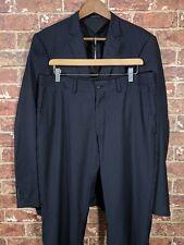 Tiger of Sweden Smiths Suit Jacket EU 50 Pants 50 Navy Blue Pinstripe Modern