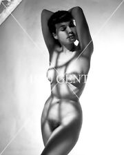 1950s NUDE 8X10 PHOTO BUSTY NICE ASS PINUP BETTIE PAGE FROM ORIGINAL NEG-4