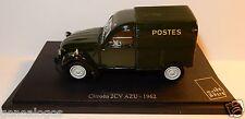 UNIVERSAL HOBBIES CITROEN 2CV 2 CV AZU 1962 POSTES POSTE PTT 1/43 in blister box