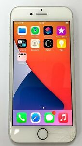 Apple iPhone 8 - 256GB - Silver (Vodafone) A1905 (GSM) - CRACKED GLASS