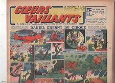 COEURS VAILLANTS 1942 n°49. Hergé. Tintin Le crabe aux Pinces d'Or.