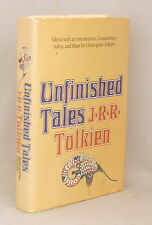 UNFINISHED TALES OF NUMENOR & MIDDLE-EARTH ~ J.R.R TOLKIEN Hardcover Dust Jacket