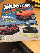 Muscle Car Classics Magazine  Fall 1986  Karl Bullock '65 427 Cobra