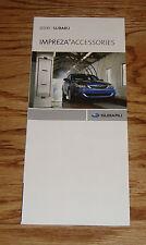 Original 2008 Subaru Impreza Accessories Foldout Sales Brochure 08
