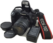 Canon 70D EOS DSLR Digital Camera w/ Canon Zoom Lens EF 28-80mm