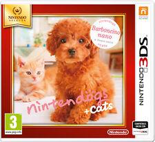 Nintendogs + Cats Barboncino NINTENDO 3DS Select IT IMPORT NINTENDO