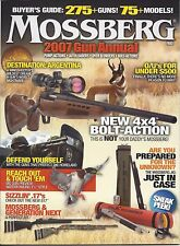 MOSSBERG 2007 GUN ANNUAL CATALOG BUYERS GUIDE 275 + GUNS 75+ MODELS