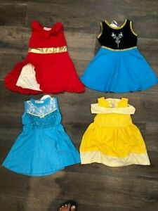 Toddler girls Princess inspired dresses FITS like size 3/4, sold individually