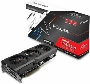Sapphire Pulse RX 6800 XT 16GB GPU - 11304-03-20G - Fast Shipping From Texas!