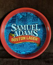 """SAMUEL ADAMS""BOSTON LAGER, ROUND,13"" X 1 1/2"" BEER TRAY"