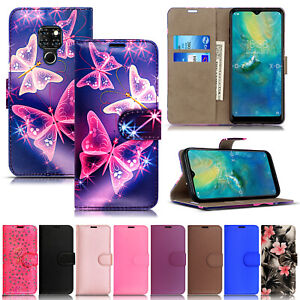 For XGODY Android Smart Phone MATE 20 Leather Wallet Flip Phone Case Cover