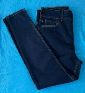 Ladies M & S Jeans-Skinny Fit. Brand New. Dark Blue. FREE P+P. Size 18 x 30