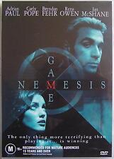 NEMESIS GAME (2003) DVD MOVIE Carly Pope, Ian McShane, Adrian Paul