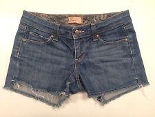 Paige Distressed Denim Jean Shorts - Size 26