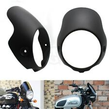 Motorcycle Headlight Flyscreen Head Windshield For Triumph Bonneville T100 T12