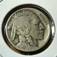 1918-D  BUFFALO NICKEL SCARCE DATE COIN