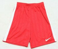 """Nike Red White Athletic Gym Shorts Size Medium 26"""" X 9"""" Polyester Womans Womens"""