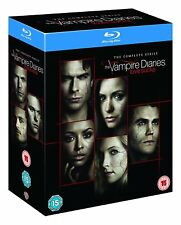 VAMPIRE DIARIES 1-8 THE COMPLETE BLU-RAY BOX SEASON 1 2 3 4 5 6 7 8 ENGLISCH