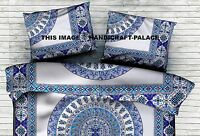 Indian Paisley Mandala Throw Pillow Case Cotton Home Decor Sofa Cushion Cover