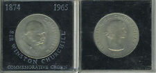 Great Britain 1965 - Crown Copper-Nickel Coin - Elizabeth II - Churchill - box-1