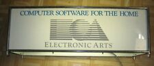 EA RARE VINTAGE EARLY 1980'S ELECTRONICS ARTS STORE LIGHTED SIGN COMPUTER GAMES