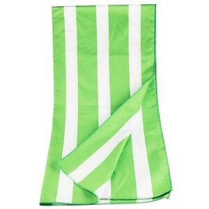 Striped Extra Large Microfiber Lightweight Beach Towel With Free Carry Bag